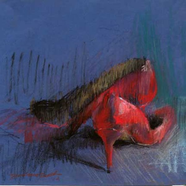 Available Now Only As A Print   Red Shoes 12 Art | Bkern Fine Art