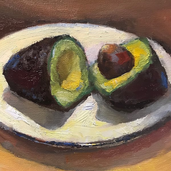 Available Now Only As A Print   Avocado 5 Art | Bkern Fine Art
