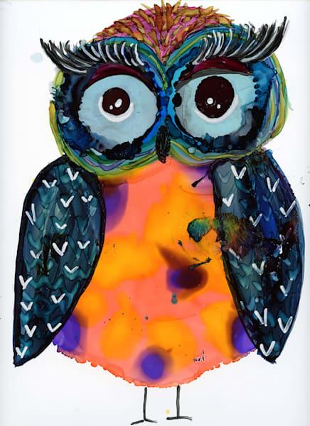 Cover Girl Owl 11x14 Art   HFA print gallery