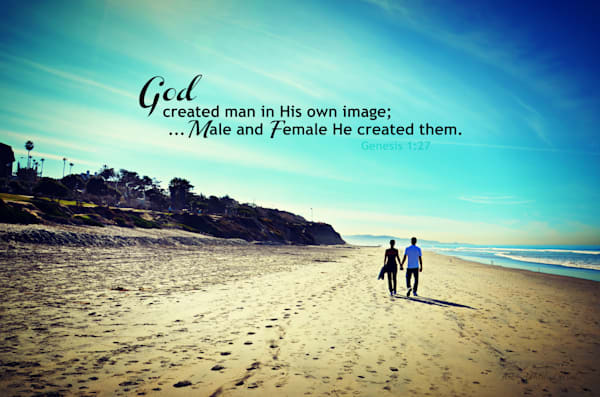 """Male and Female He created them..."""