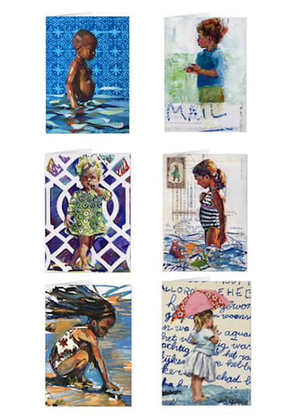 Mixed set of greeting cards for sale