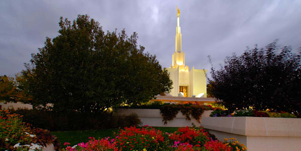 Denver Temple - Panoramic Grounds