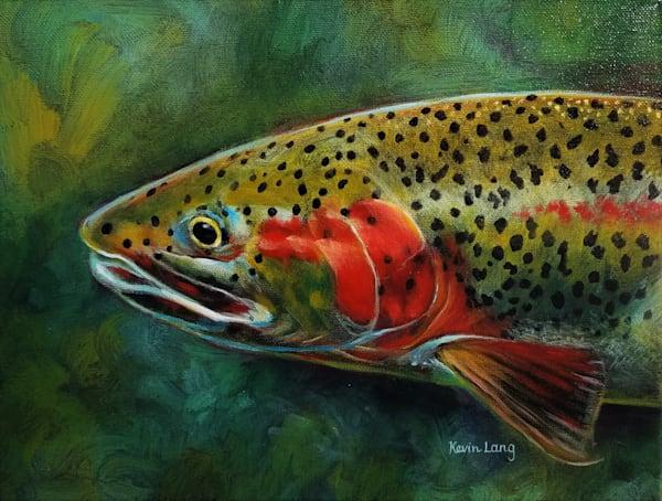 Rainbow Trout Art | Kevin Lang Fine Art