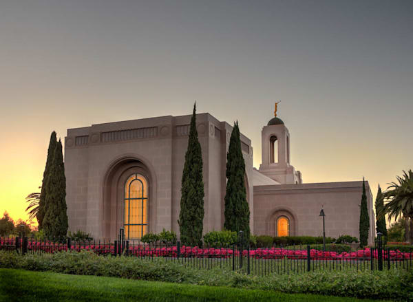 Newport Beach Temple - Over the Fence
