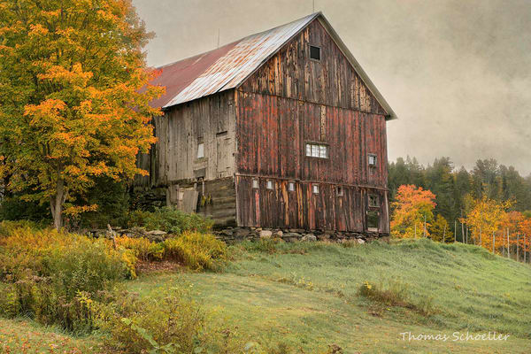Stately Rustic Cabot Vermont Barn
