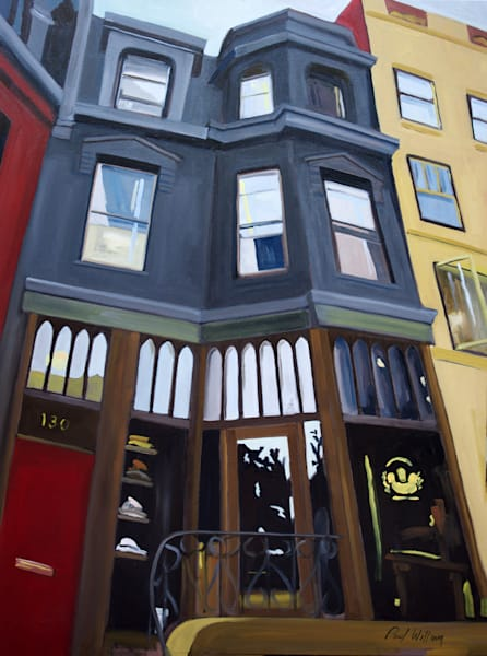 Newbury Street Hat Shop by Paul William | Fine Art for Sale
