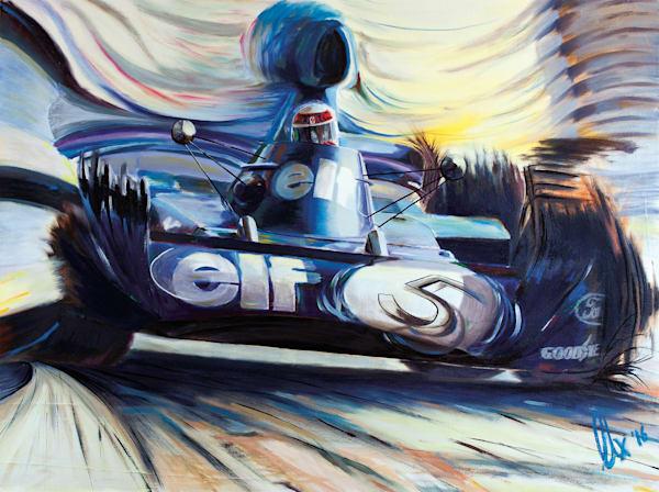 Jackie Stewart - Tyrrell-Ford 006