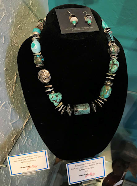Turquoise Jewelry by Maurice Sevigny