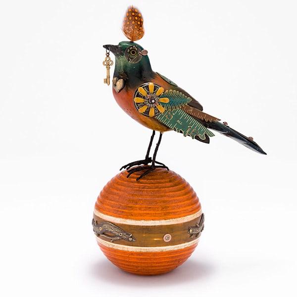 Song Bird by Jim & Tori on Orange Ball