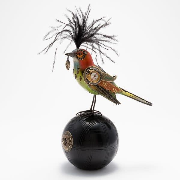 Song Bird by Jim & Tori Vintage Sculpture