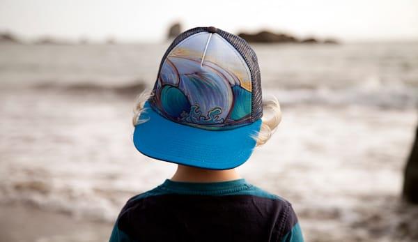 Below Sea Level Trucker Hat by Spencer Reynolds