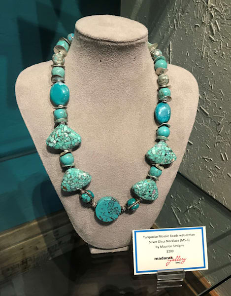 Turquoise Beads Jewelry Tucson Art Gallery