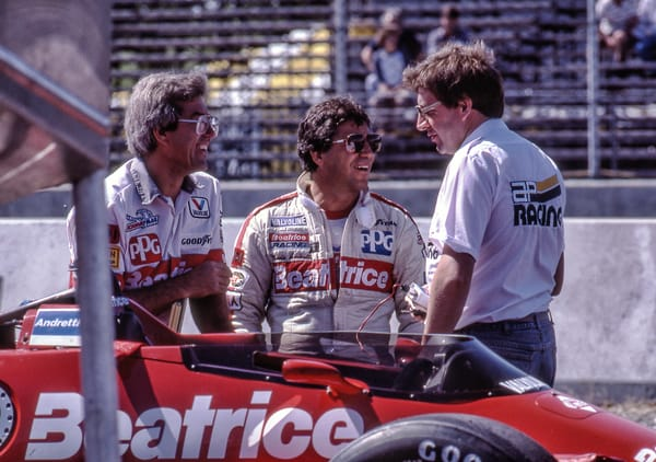 Mario Andretti Before the Race