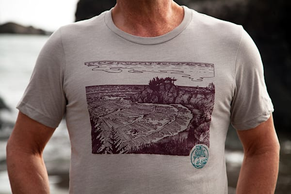 Semi Aquatic Wild Goat Cove T-Shirt by Spencer Reynolds