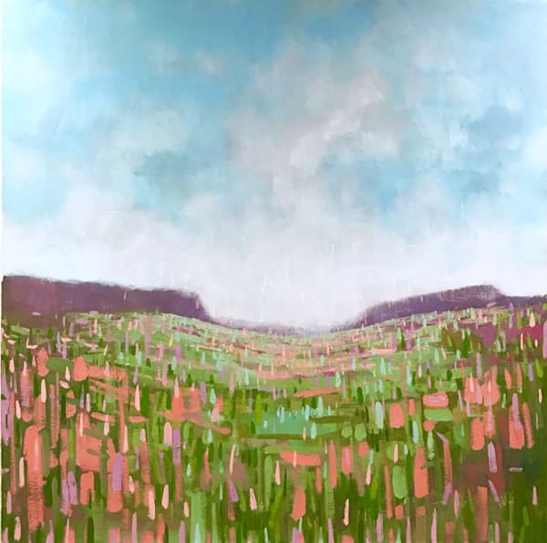 All the Places We Can Go see oil on canvas landscape painting