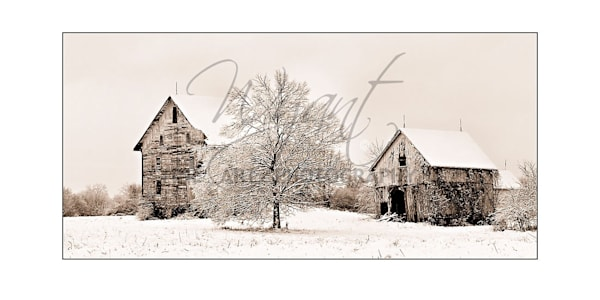Snow Covered Barns:  Shop Fine Art Photography | Jim Wyant, Master Craftsman (317)663-4798