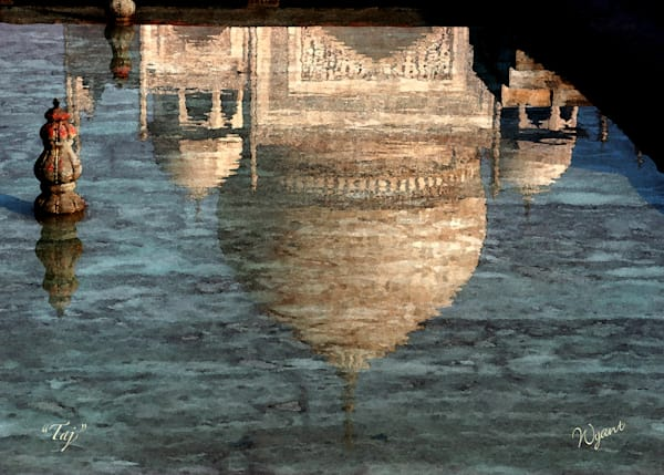 Reflection of the Taj Mahal:  Shop Fine Art Photography | Jim Wyant, Master Craftsman (317)663-4798