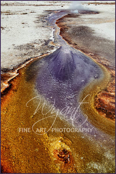 Yellowstone Abstract Water and Land: Shop Fine Art Photography | Jim Wyant, Master Craftsman (317)663-4798