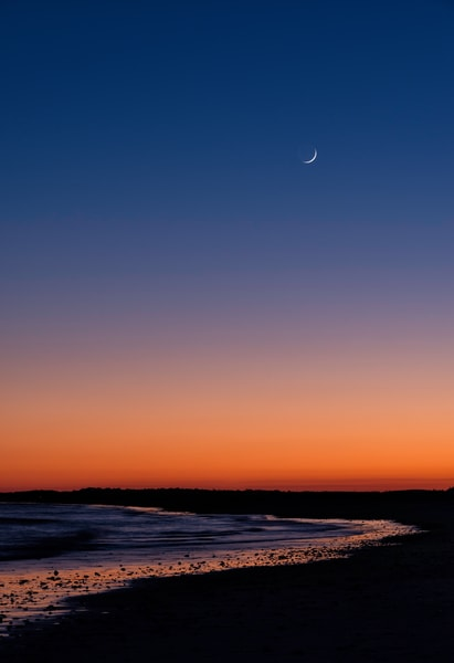 Folly Sunset Crescent Moon