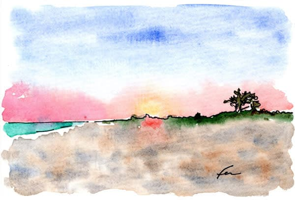 Sunset at Isle of Palms
