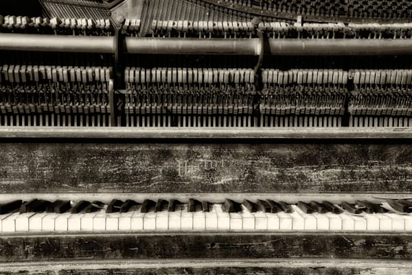 Still Upright | Victor Chicago Piano Photograph | Instrumental Art