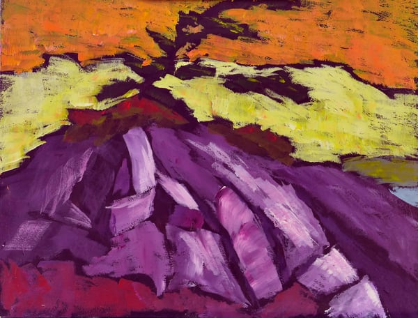 Killarney Purple Rocks Art | Keith Thirgood