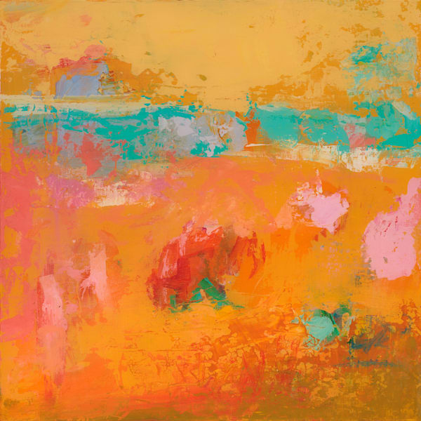 Bright Colored Santa Fe Abstract Painting