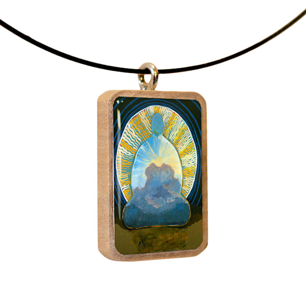 Awakening pendant by Jenny Hahn