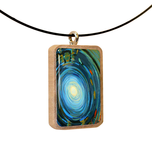 Emergence handcrafted pendant, by Jenny Hahn