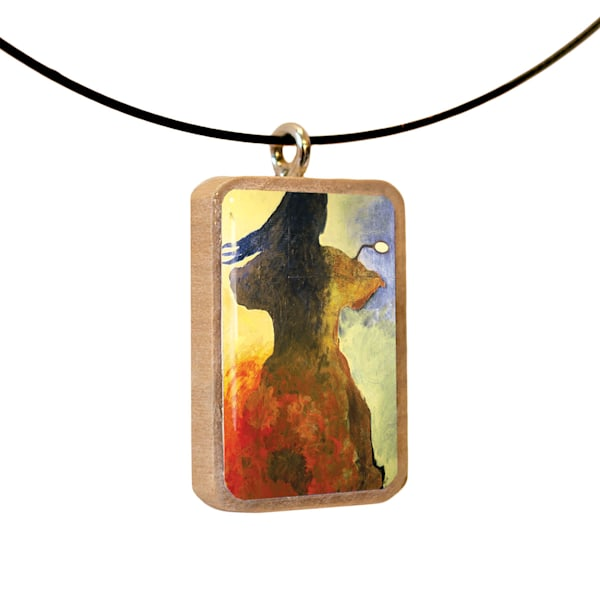 Movin' On handcrafted pendant, by Jenny Hahn