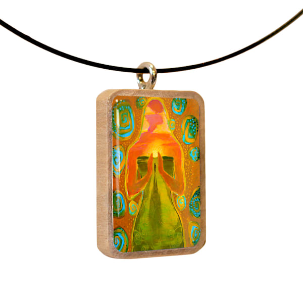 The Journey Home handcrafted pendant, by Jenny Hahn