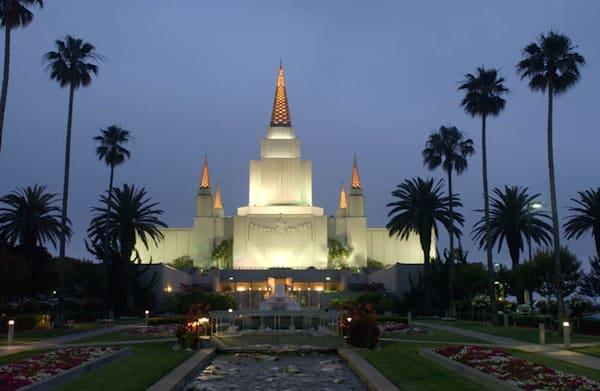 Oakland Temple - Light Sky