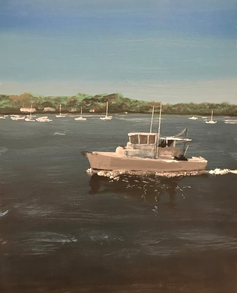 Northport Harbor Art | Marci Brockmann Author & Artist