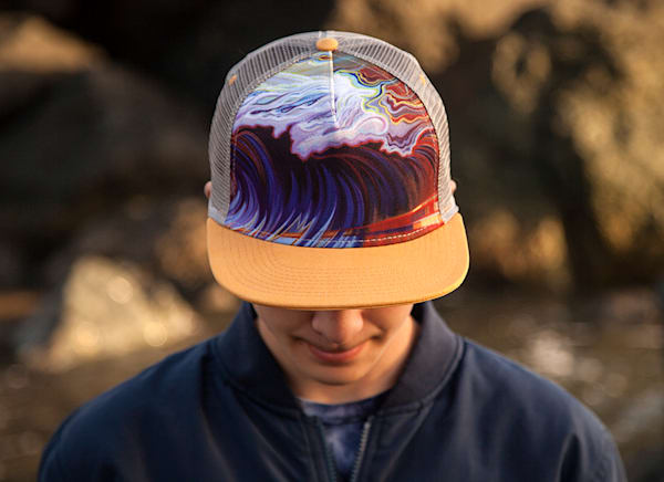 Torrent Trucker Hat by Spencer Reynolds