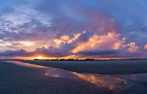 Folly Beach Sunset Skyfire