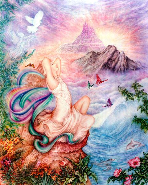 Moments Of Bliss Art | Joan Marie Art