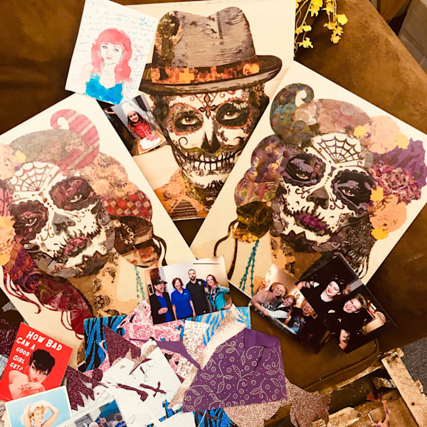 'DAY OF THE DEAD' Collage Workshop - 15 November 2018