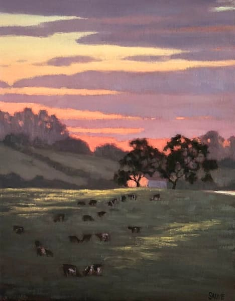 West Sonoma County landscape painting