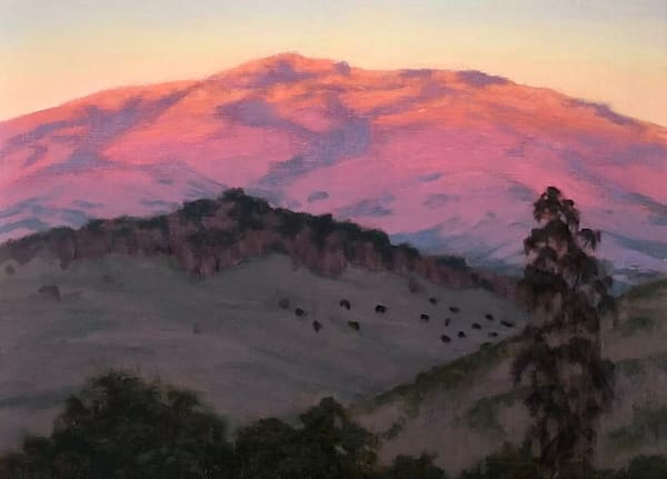Marin Hills Aglow, Northern California oil