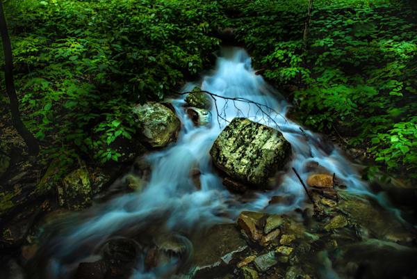 Stream at Cascade Falls, Pembroke, VA