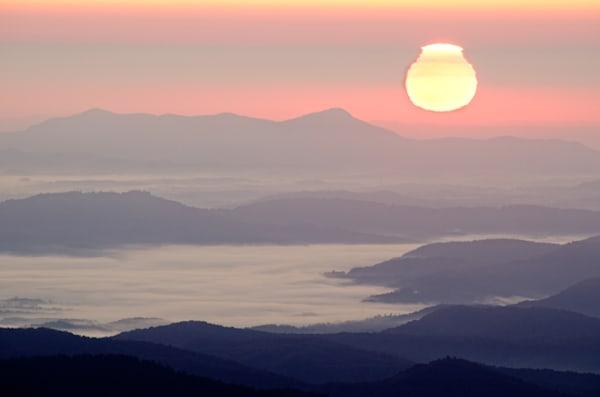 Balsam Gap Sunrise