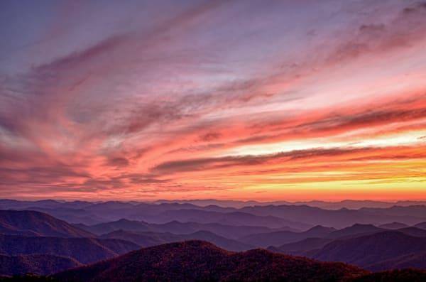 Cowee Mountain Sunset