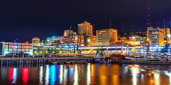 Downtown Duluth at Night - Duluth Photos   William Drew