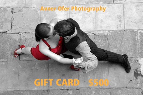 $500 Gift Card | Avner Ofer Photography