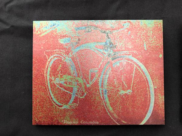 """Columbia Bicycle - 10""""x8"""""""