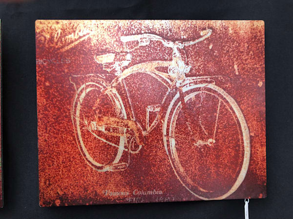 "Rusty Bicycle - 10""x8"""