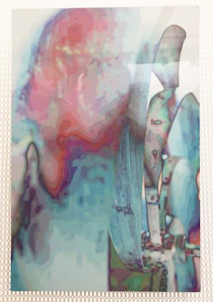 """Pastel Wind Sculpture 8""""x12"""""""