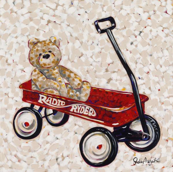 Let's Roll Bear Bear Art | Jodi Augustine Art