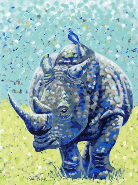 Pouty Rhino
