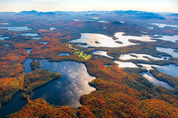 Turtle Pond and Upper Saranac Lake